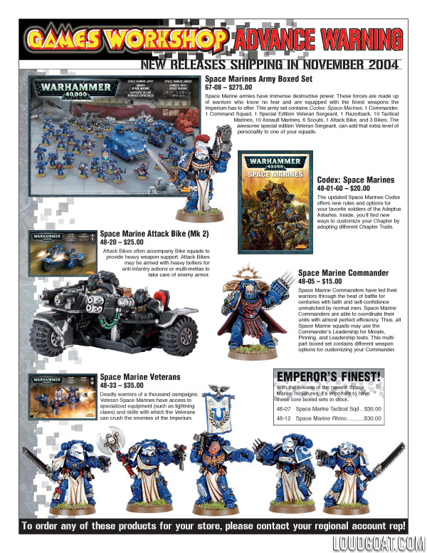 Loud Goat William Stilwell Games Workshop Product Sell Sheet – Sample Sell Sheet